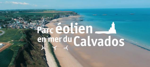 La construction de parc éolien en mer du Calvados a démarré !